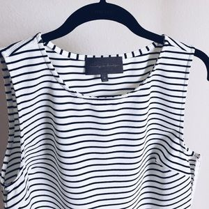 Anthropologie Tops - Anthropologie striped peplum top. NWOT